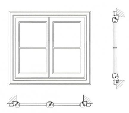Riproduzione finestre d 39 epoca finestre d 39 epoca for Disegno una finestra testo
