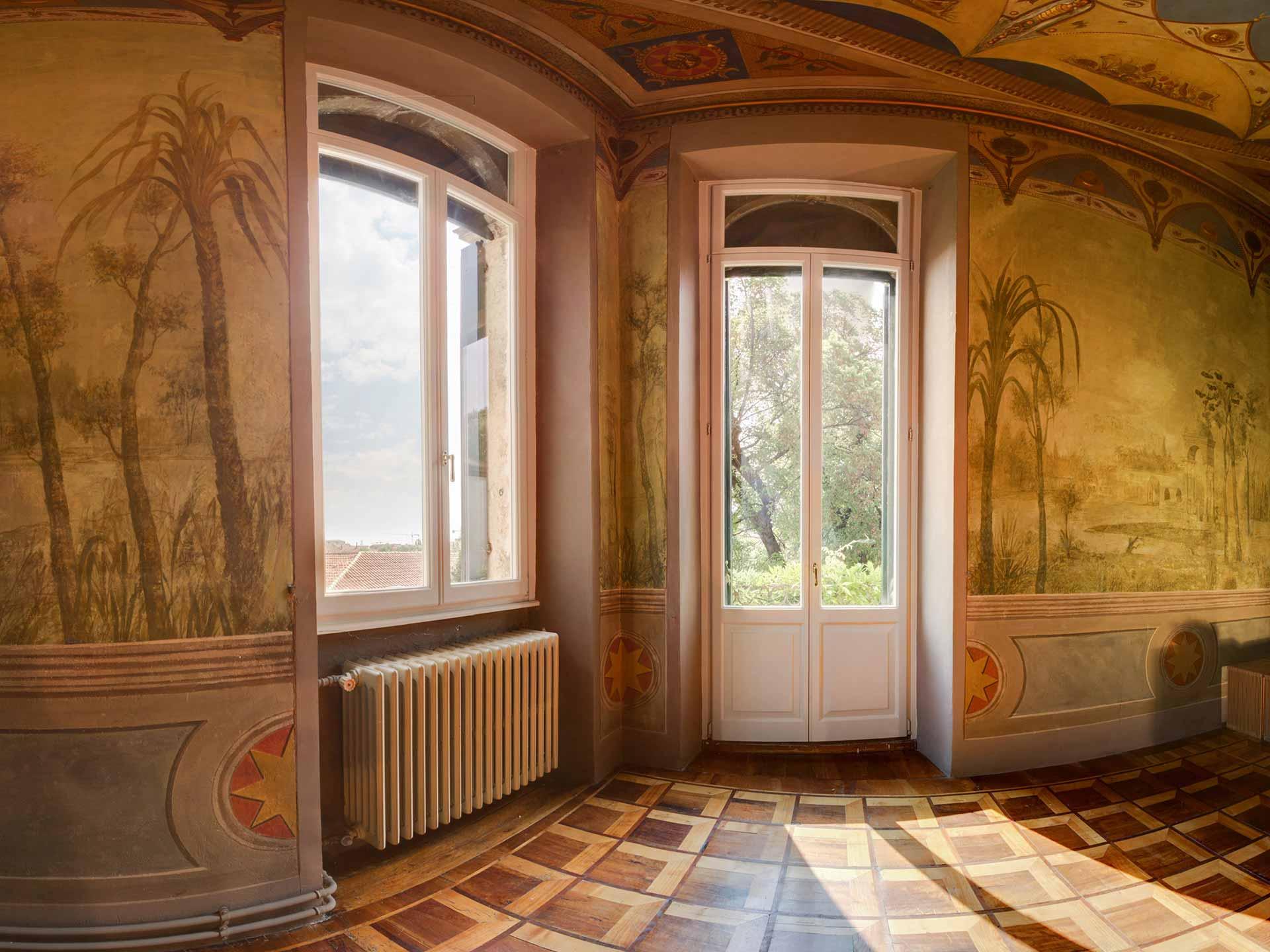 Home finestre d 39 epoca - Finestre stile inglese in legno ...